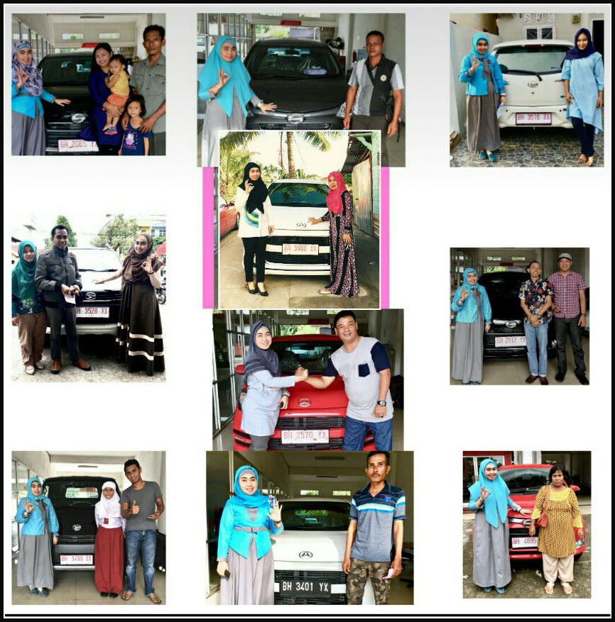 Foto Penyerahan Unit 1 Sales Marketing Mobil Dealer Daihatsu Jambi Erika