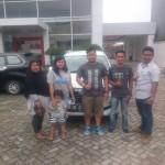 Foto Penyerahan Unit 1 Sales Marketing Mobil Dealer Daihatsu Lampung Liko