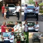 Foto Penyerahan Unit 5 Sales Marketing Mobil Dealer Daihatsu Lampung Liko